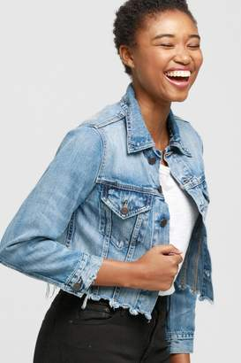 ABLE Cropped Jean Jacket