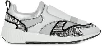 Sergio Rossi crystal embellished sneakers