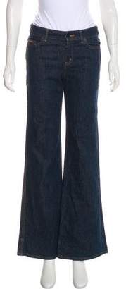 See by Chloe Mid-Rise Wide-Leg Jeans