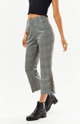 Lucca Couture Rylie Side Button Hem Pants