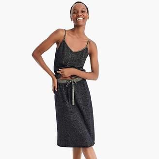 Demy Lee J.Crew X DEMYLEETM Lurex® cashmere sweater skirt
