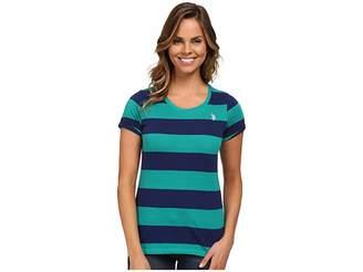 U.S. Polo Assn. Wide Stripes T-shirt Women's T Shirt