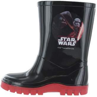 Star Wars William Lamb Boys The Last Jedi & Red Wellies Rain Boots Sizes UK Infant 11