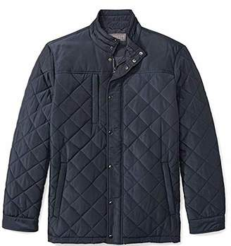 The Plus Project Men's Plus Size Water Resistant Quilted Barn Jacket