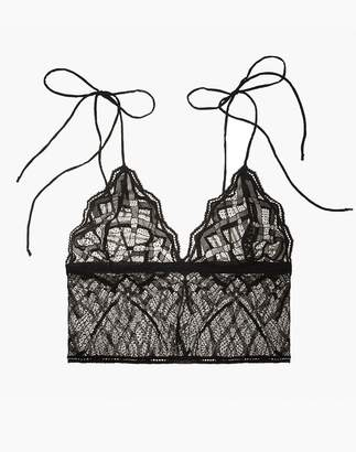 Madewell The Great Eros Lace Sonata Longline Bralette