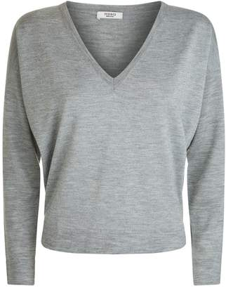 Peserico Knitted Lurex Panel Sweater