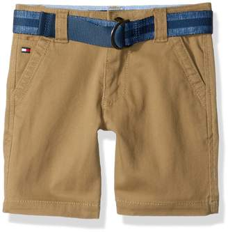 Tommy Hilfiger Big Boys' Dagger Stretch Twill Short, Chino