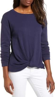 Caslon Twist Front Sweatshirt