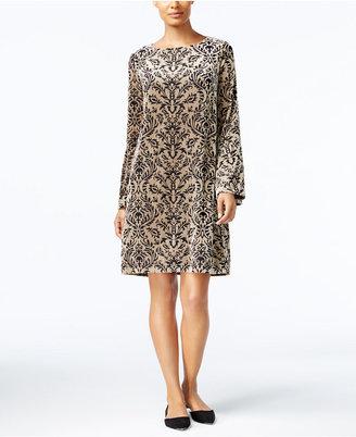 ECI Velvet Shift Dress $70 thestylecure.com