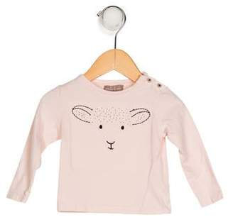 Emile et Ida Girls' Embroidered Top