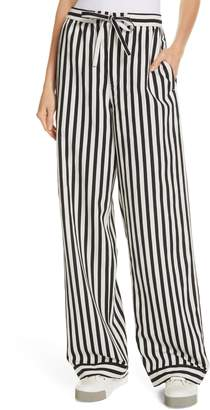 Polo Ralph Lauren Stripe Wide Leg Pants