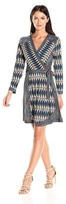 BCBGMAXAZRIA Azria Women's Adele Knit Wrap Dress