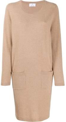 Allude fine knit sweater dress