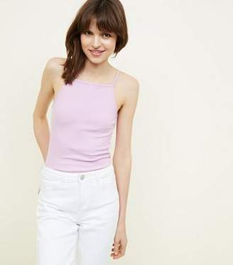 New Look Lilac Square Neck Cami