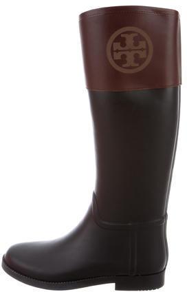 Tory BurchTory Burch Rubber Knee-High Rain Boots