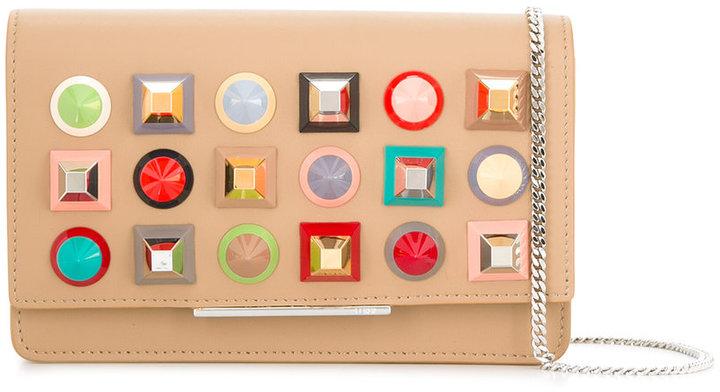 FendiFendi stud embellished crossbody bag