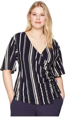 Kiyonna Stella Cinch Top Women's Clothing