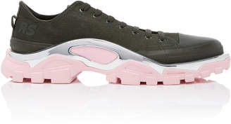 Adidas By Raf Simons Detroit Runner Canvas And Rubber Sneakers