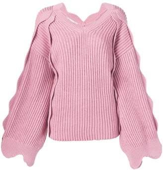 Stella McCartney (ステラ マッカートニー) - Stella McCartney スカラップトリム セーター