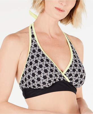 Go by Gossip Crossover Halter Bikini Top Women Swimsuit