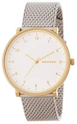 Skagen Men's Stainless Steel Quartz Watch, 40mm