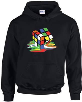 Theory NineTeen Big Bang Melting Rubik's Cube Hoodie