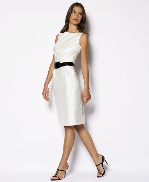 Lauren Ralph Lauren Silk Sheath Dress