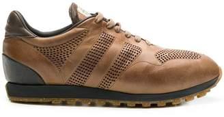 Alberto Fasciani perforated low top sneakers