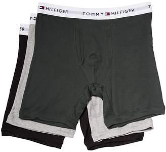 Tommy Hilfiger Cotton Boxer Brief 3-Pack Men's Underwear