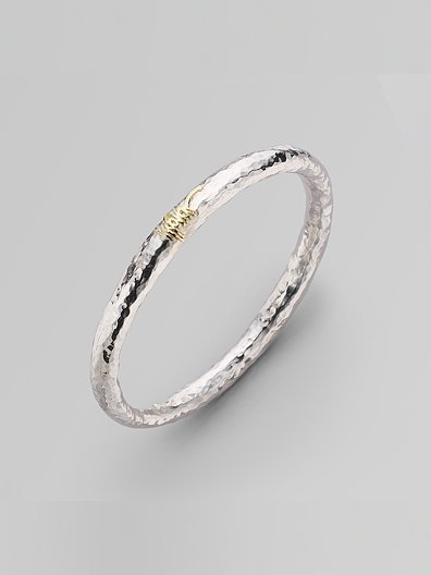 Ippolita Sterling Silver & 18K Yellow Gold Bracelet