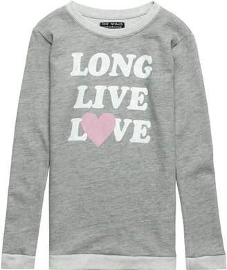 Tiny Whales Crewneck Sweatshirt - Girls'
