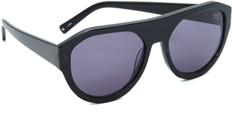 KENDALL + KYLIE Mercy Sunglasses $220 thestylecure.com