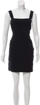 RED Valentino Black Bodycon Dress