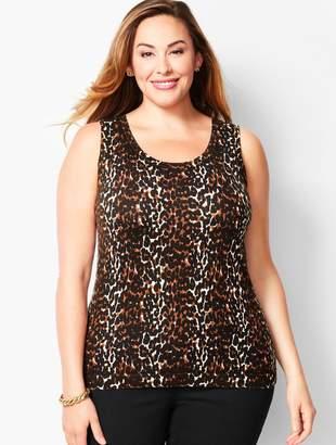 Talbots Charming Shell-Leopard