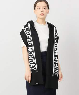 Cheap Monday (チープ マンデー) - JOINT WORKS CHEAP MONDAY Sweater scarf