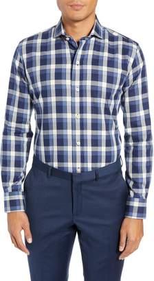 Ledbury The Dietz Slim Fit Plaid Dress Shirt
