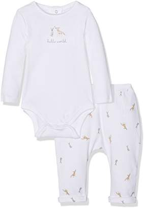 Mamas and Papas Baby 2Pc B/Suit & AOP Pant Clothing Set