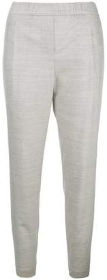 Fabiana Filippi marled tapered trousers