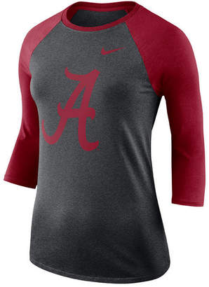 Nike Women's Alabama Crimson Tide Dri-Blend Raglan T-Shirt