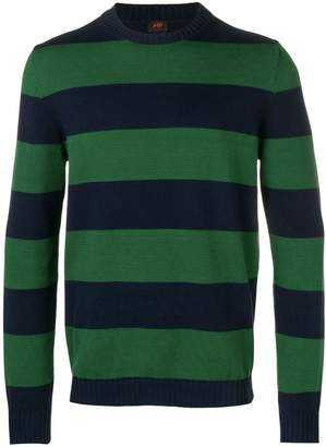 Piombo Mp Massimo striped jumper