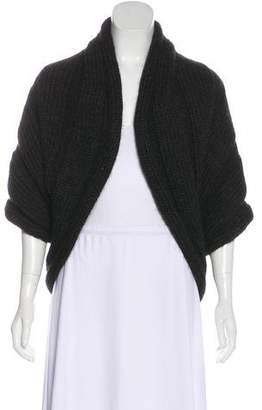 Lanvin Wool-Blend Knit Shawl