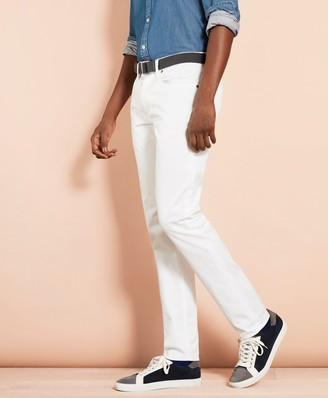 Brooks Brothers Herringbone Five-Pocket Pants