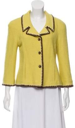 Couture St. John Structured Tweed Blazer