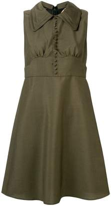 No.21 micro button dress