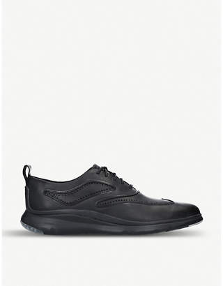 Cole Haan Mastermind 3.ZERØGRAND leather Oxford shoes