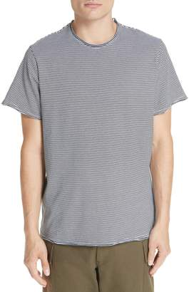 Ovadia & Sons Raw Edge Stripe T-Shirt