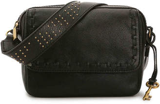 Fossil Aria Leather Crossbody Bag - Women's