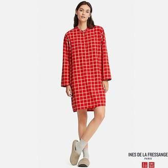 Uniqlo Women's Flannel Long-sleeve Pajamas (ines De La Fressange)
