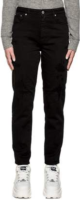 Dondup Black Denim Anya Jeans