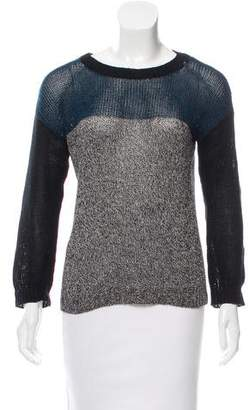 Yigal Azrouel Cut25 by Crew Neck Long Sleeve Sweater